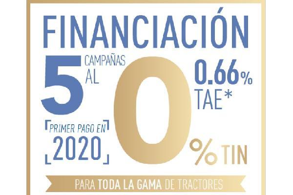 FINANCIACIÓN ORO - 5 CAMPAÑAS AL 0,00%