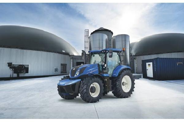 New Holland inicia la comercialización del tractor impulsado por metano