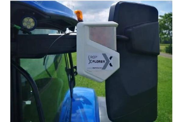New Holland presenta NUEVO sensor CROP EXPLORER
